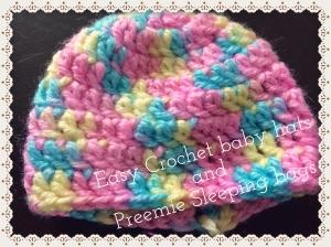 easy crochet baby hat